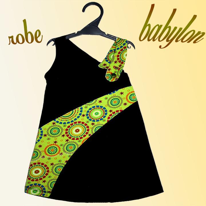 patron de robe Babylon